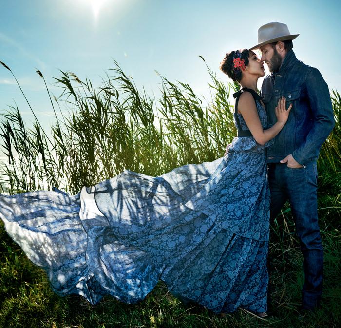 www.pegasebuzz.com | Ruth Negga and Joel Edgerton by Mario Testino for Vogue US, november 2016