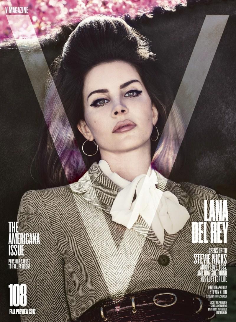 www.pegasebuzz.com | Lana Del Rey by Steven Klein for V Magazine 2017