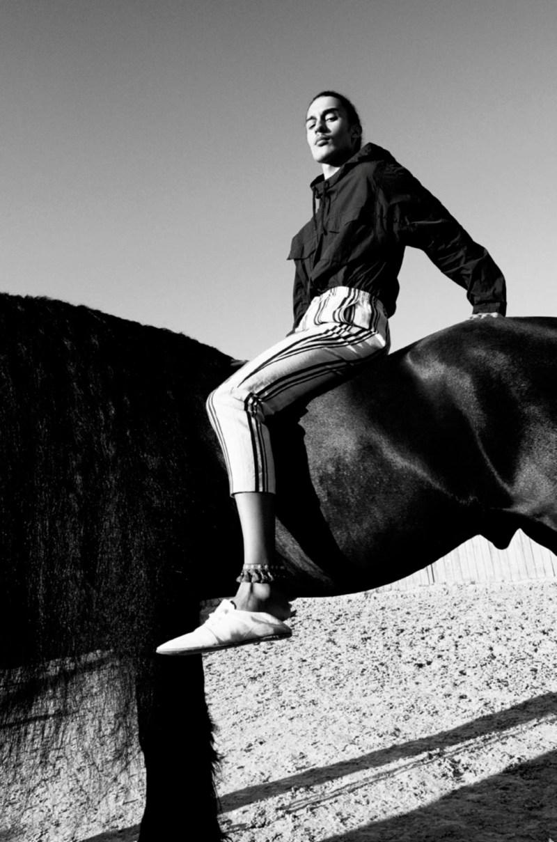 www.pegasebuzz.com   Taj Figueroa by Andrea Spotorno for Vogue Hommes, spring-summer 2017