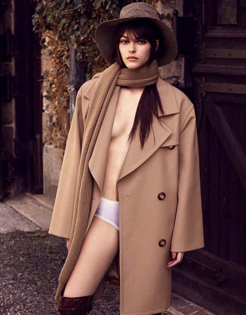 www.pegasebuzz.com | Vittoria Ceretti by Luigi and Lango for Vogue Germany, november 2017