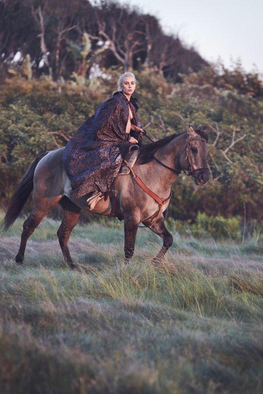 www.pegasebuzz.com   Lady Gaga by Collier Schorr - Horse