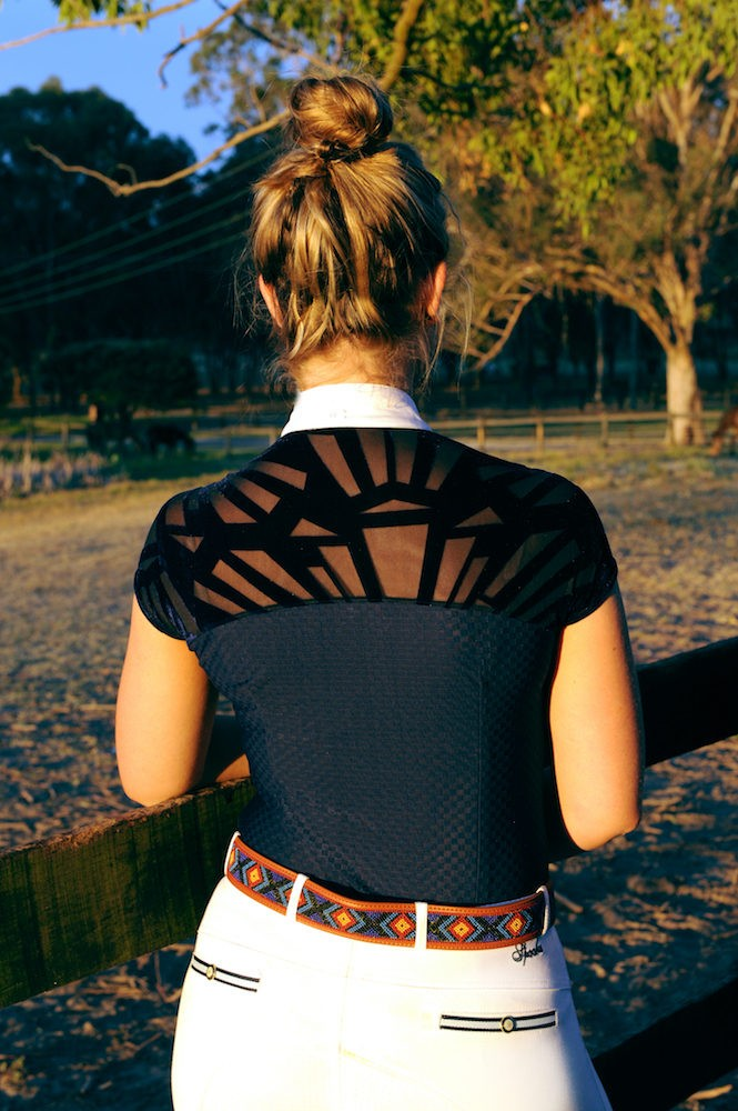 www.pegasebuzz.com | Equestrian Fashion : competition shirt Sorrento by EMCEE Apparel.