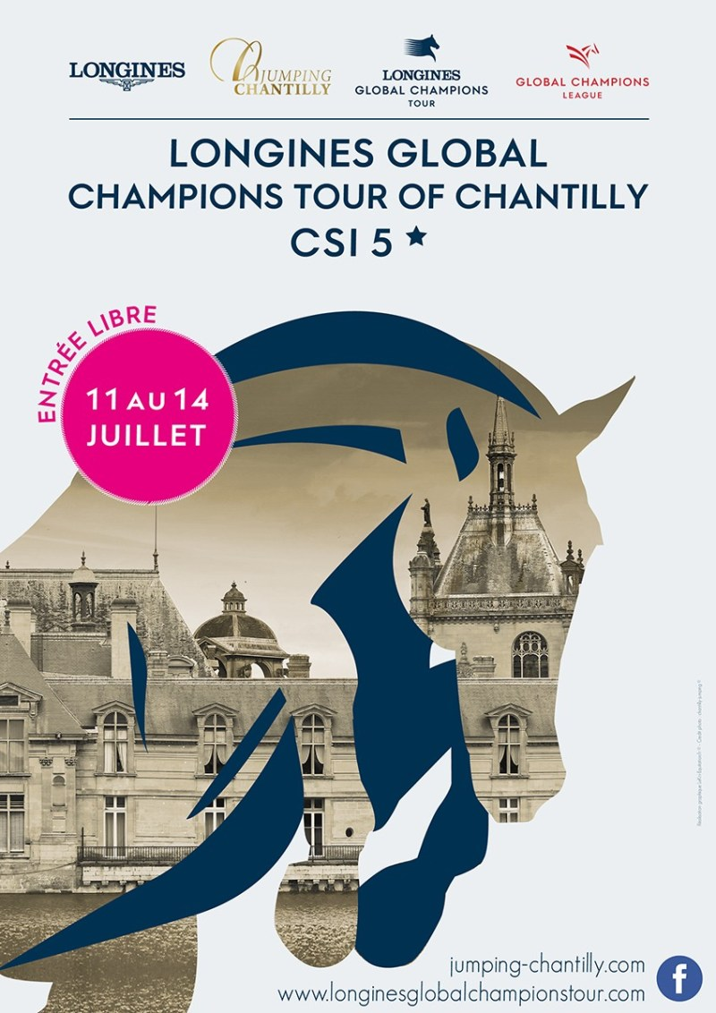 www.pegasebuzz.com | Affiche - Global Champions Tour Chantilly 2019.