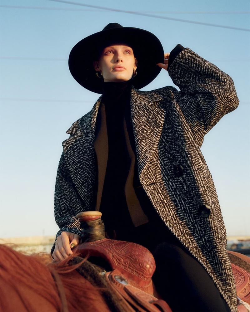 www.pegasebuzz.com | Kris Grikaite for Zara, Fall 2019.