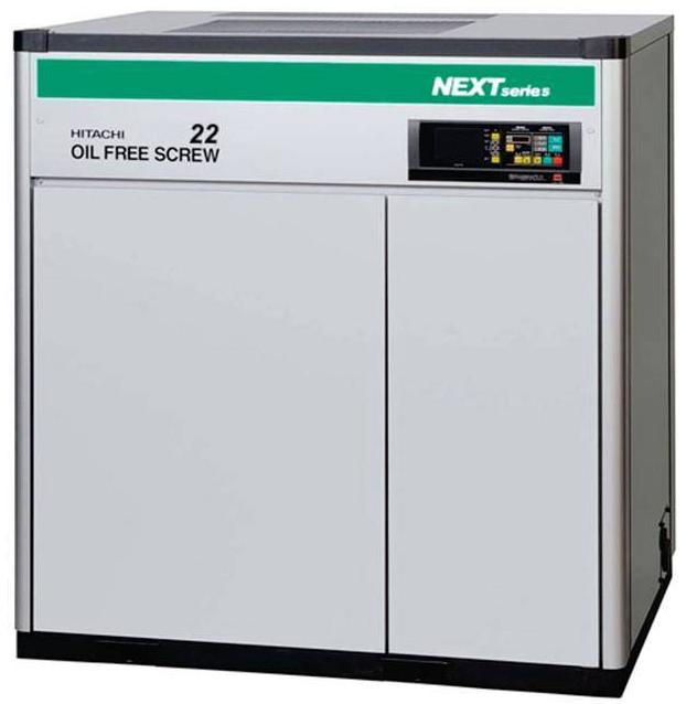 Compresor de tornillo libre de aceite HITACHI DSP