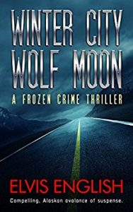 Winter City Wolf Moon by Elvis English
