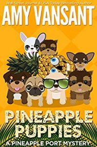 Pineapple Puppies by Amy Vansant
