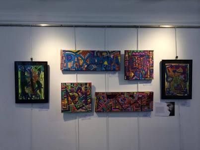 exposition à Belle Ile