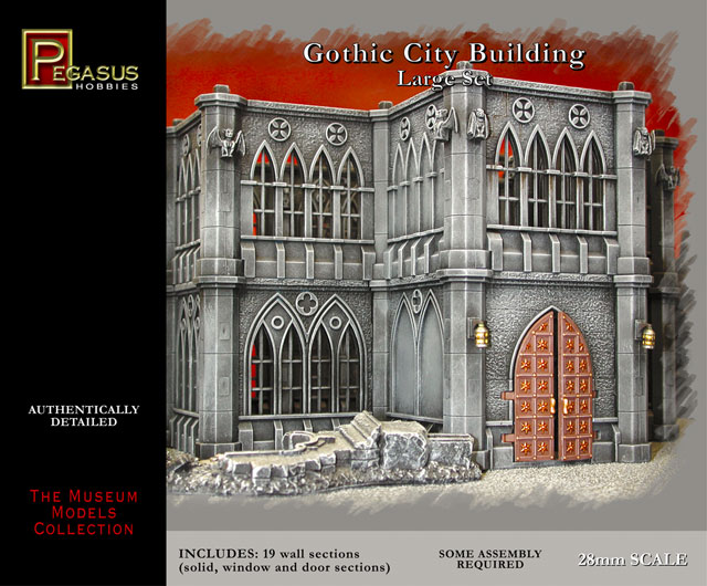#4923 Gothic City Buildings Large Set