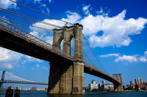 """Brooklyn Bridge Manhattan"""