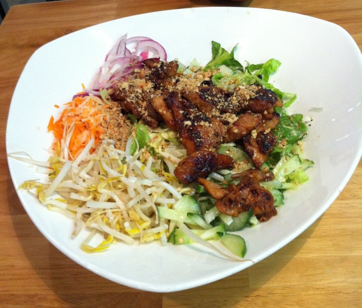 saigon jons hot hoisin chicken salad