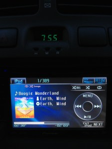 Wordless Wednesday – Morning Drive Tunes w/Linky