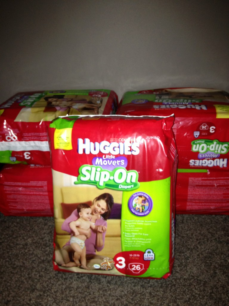 huggies slipon diapers