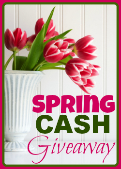 Spring Cash Worldwide Giveaway