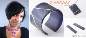 New Feature! PegCityChat with Nat – dconstruct jewelry {Giveaway}