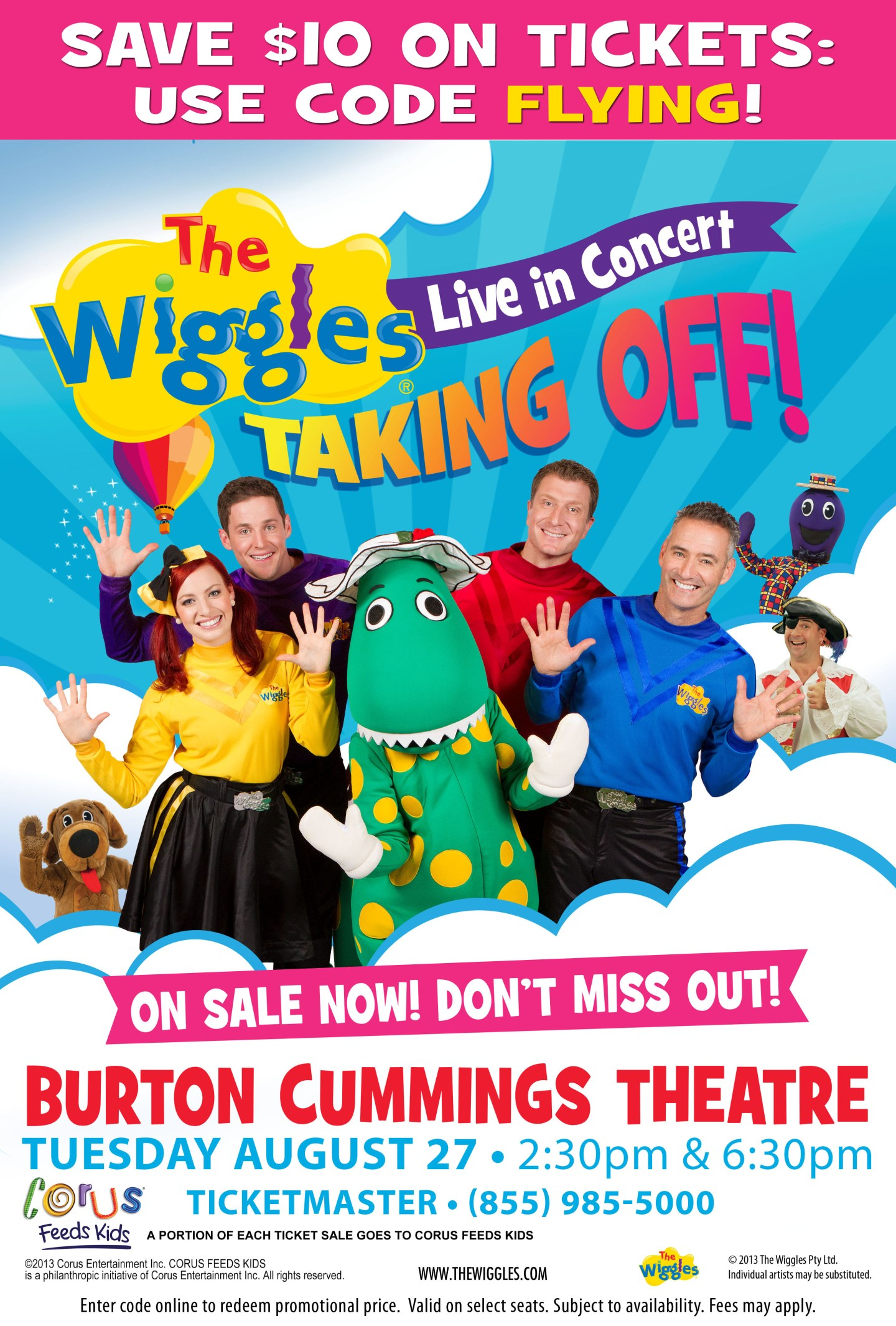 #Win a Family Pack to see The Wiggles #Winnipeg {Giveaway}