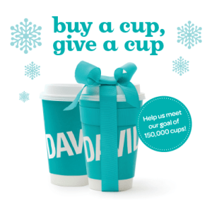 Buy A Cup, Give A Cup #Winnipeg! The #cupofwarmth Campaign Ends Soon!