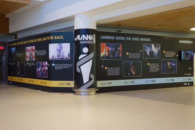 The Junos Are Here, The Junos Are Here! #Winnipeg #JUNOS2014