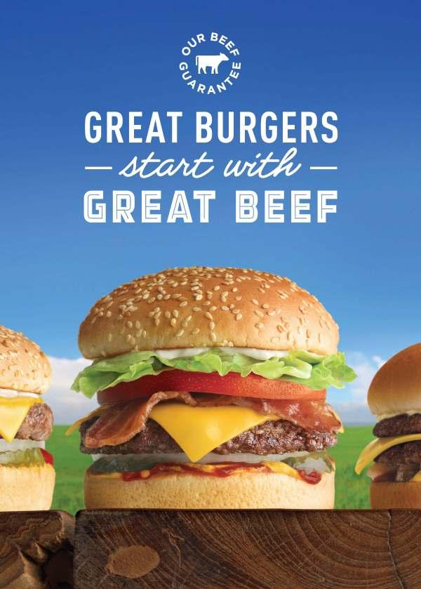 A&W Beef Guarantee