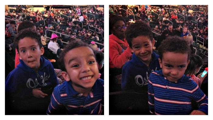 Kids at DisneyOnIce