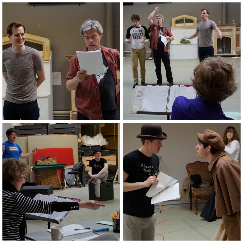 Behind the Scenes at PTE Hound of the Baskervilles #exploreMB #WpgTheatre