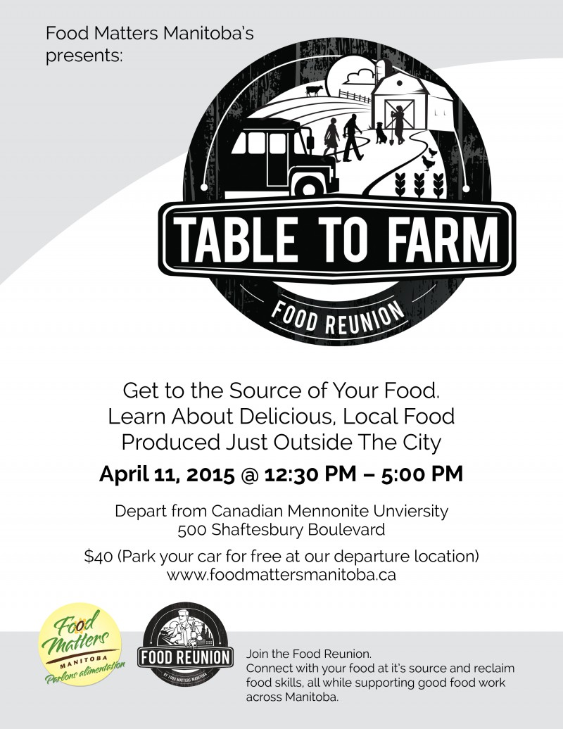 Table to Farm Food Matters Manitoba