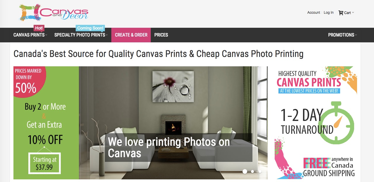 Enhance Your Home With Canvas N Decor Photo Prints