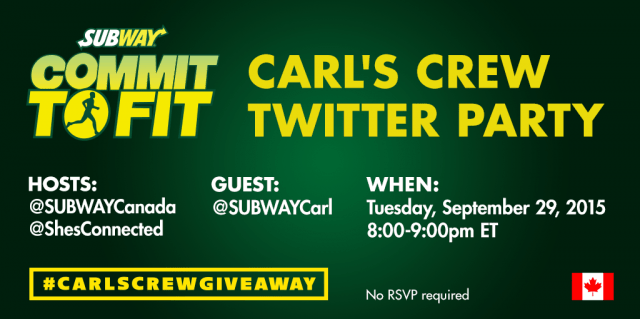 Carls Crew twitter Party