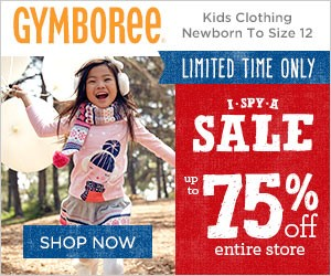 Gymboree I Spy A Sale #PCLDealsSteals