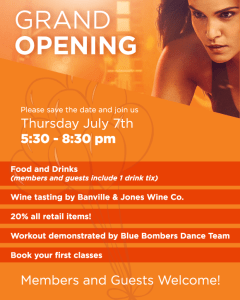 Open House Grand Opening Party at Orangetheory Fitness Sage Creek