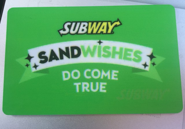 PegCityLovely Is Ready To Be A #SubwaySandwish Granting Machine