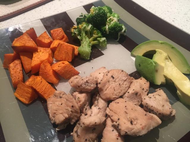 Quick Fix Dinner – Chicken & Veggies