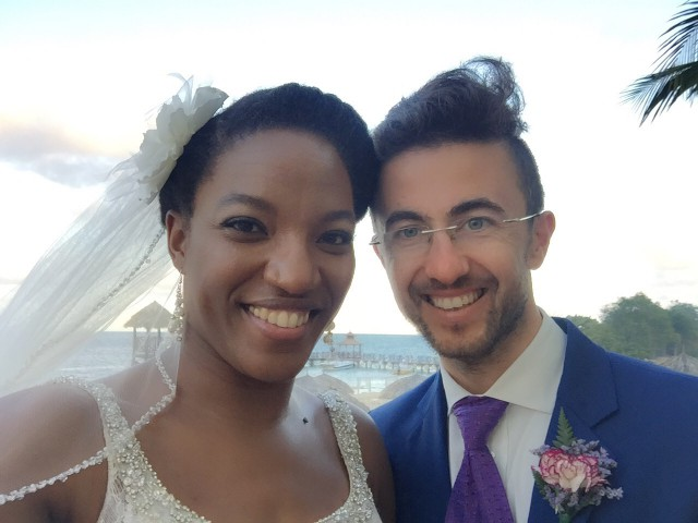 Guess who is officially married?