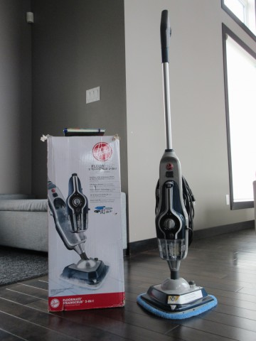 Easily #RethinkCleaning with Hoover FloorMate SteamScrub