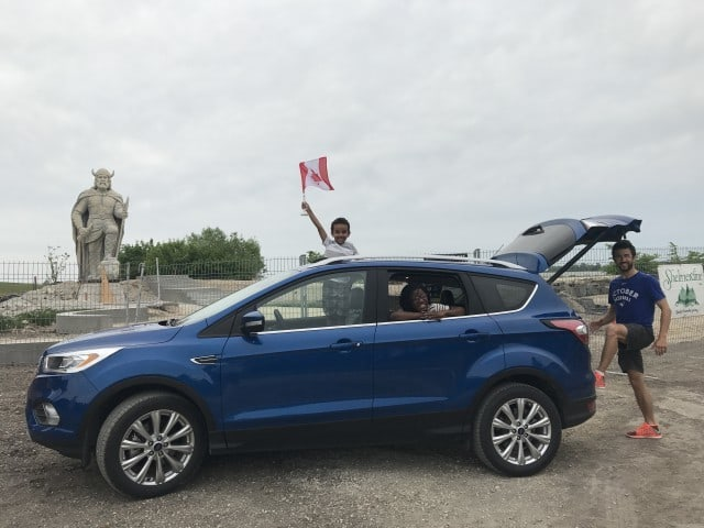 Fun Family Roadtrip To Gimli with the Ford Escape #GoFurther150
