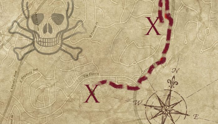 Your Path. Your Rules. Your Pirate Map.
