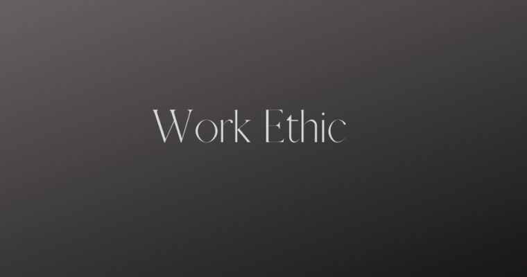 Work Ethic and Levis Jeans