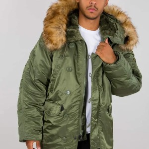 ALPHA N3B SAGE GREEN (Winterjacke)