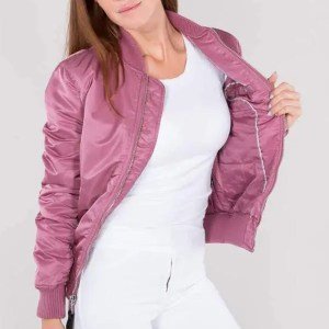 ALPHA MA-1 VF PM DUSTY PINK (WOMEN)