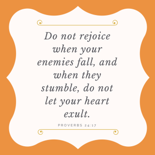 Do not rejoice (1)