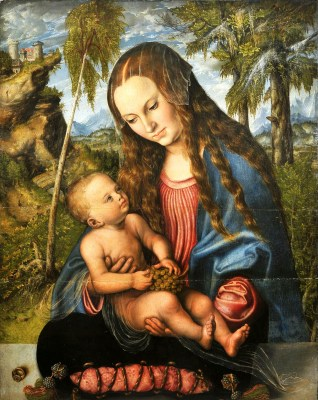 Cranach_Madonna_under_the_fir_tree