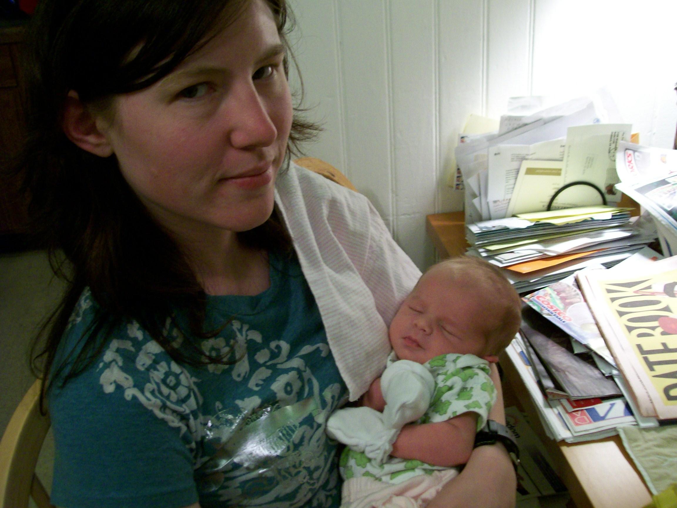 Newborn Cameron - June 2007