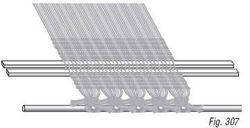 Weaving with the Two-stick Heading