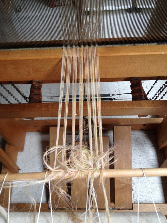 the warp on tension