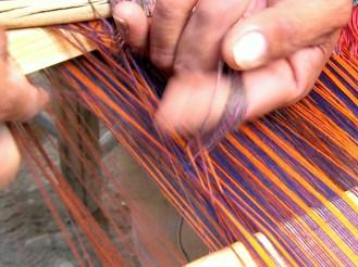 5.12 making the string loops to put on sticks to make pattern