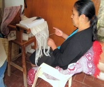 8.12 woman working on fringe