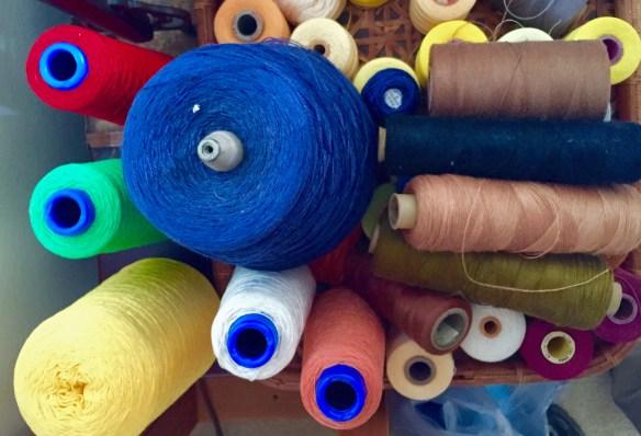 Spools of Yarn