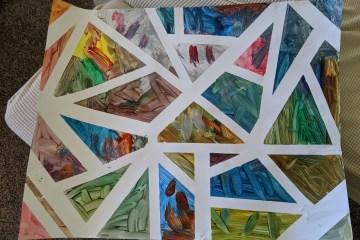 proyecto de arte niños