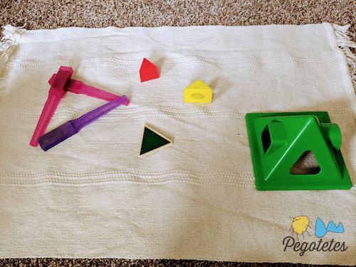 Buscando triángulos en casa
