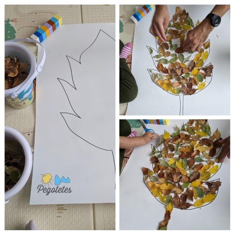 Actividades infantiles de otoño: Proyecto de arte
